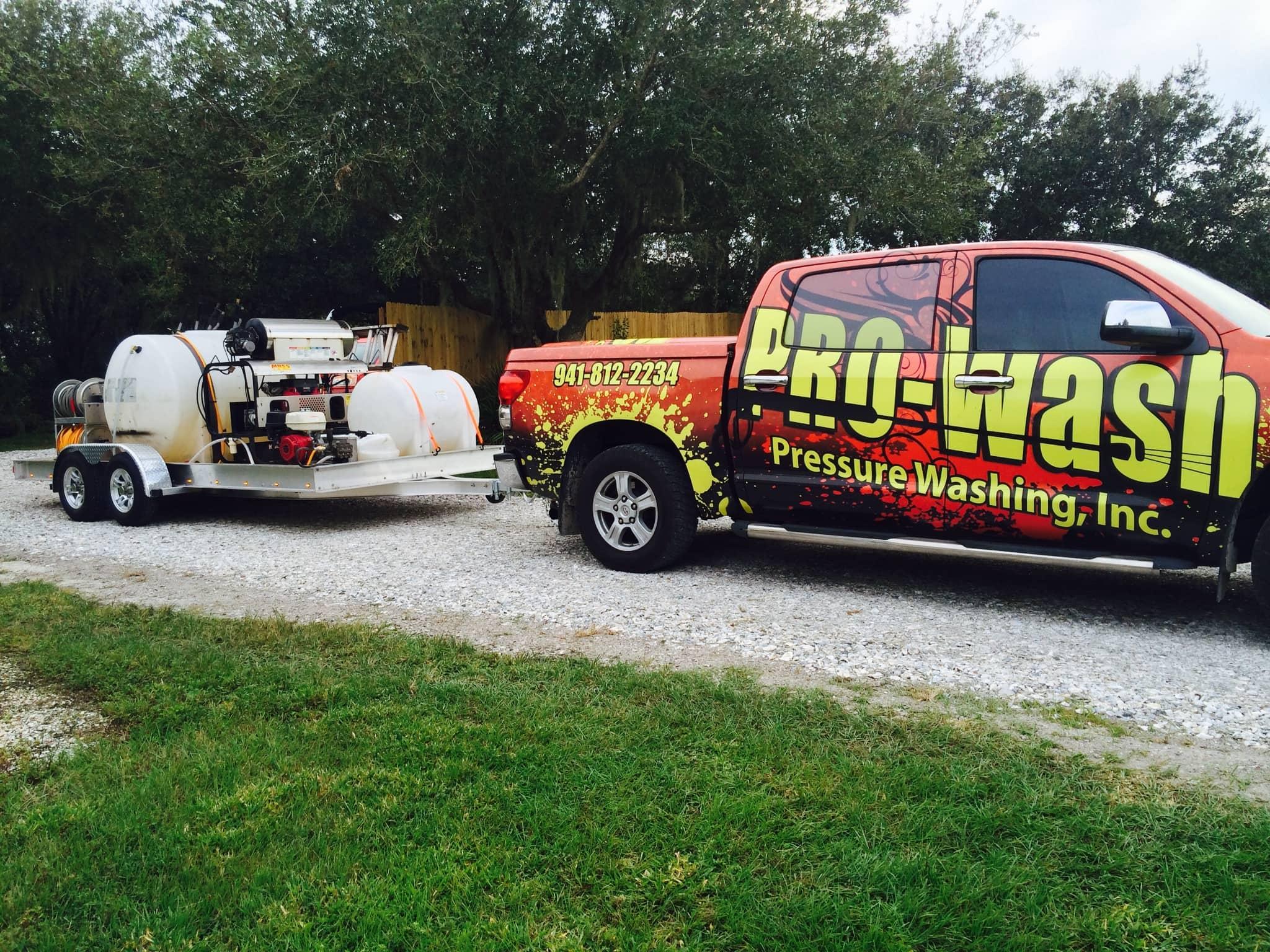 The Pro Wash Truck & Trailer